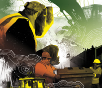 Island Waste Annual Report Design Thumbnail