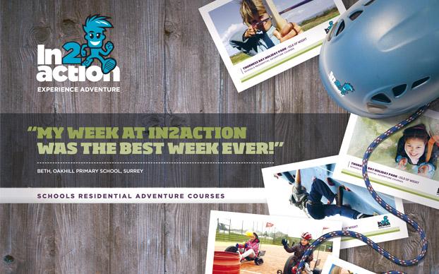 Activity Adventure Brochure Design In2Action