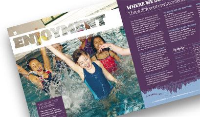 Schools Activity Adventure Brochure Printing