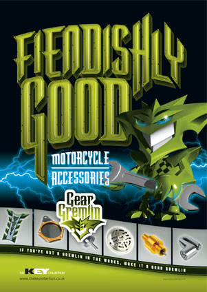 Magazine Advertising Campaign Designs for Gear Gremlin