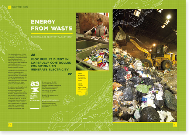 Annual Report Designers of Island Waste