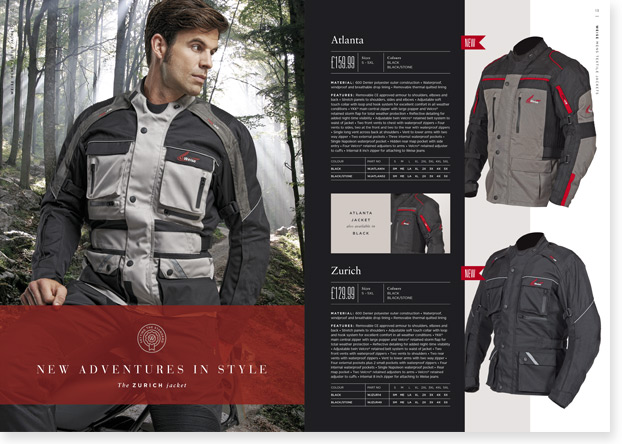 Catalogue Design Printing Fowlers Clothing
