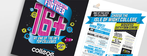Newspaper Advert Campaign Designers for IOW College