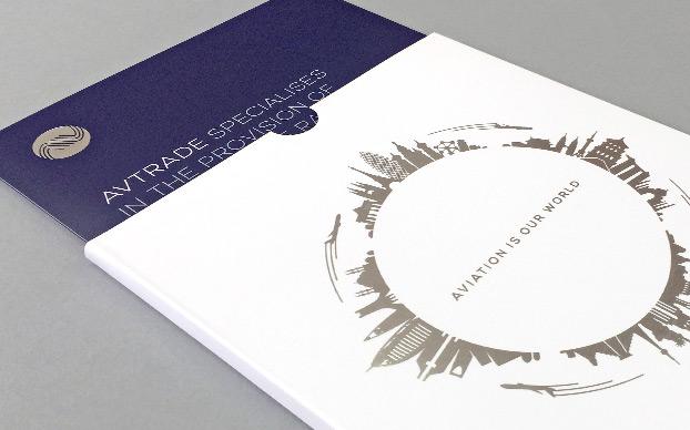 Corporate Brochure Design Avtrade