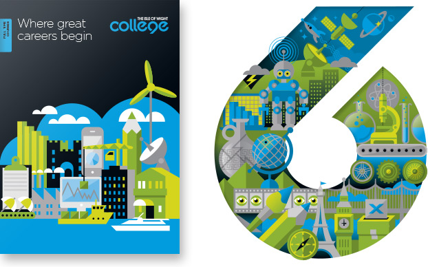 Prospectus Design and Printing 6th Form