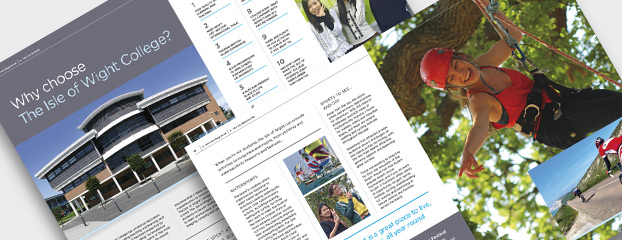 6th Form Prospectus Design and Printing