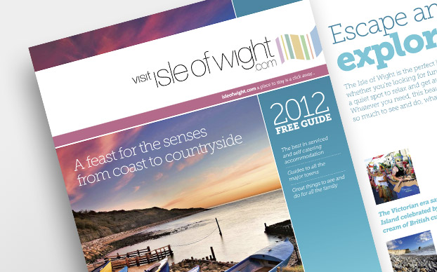 IOW Tourism Guide Design and Printing
