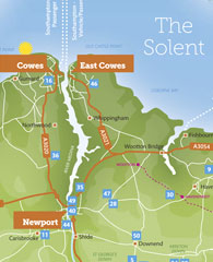 Tourism Guide Map Designs IOW