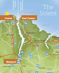 Tourism Guide Map Designs IOW