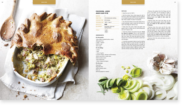 Kenwood Cookbook Design Agency