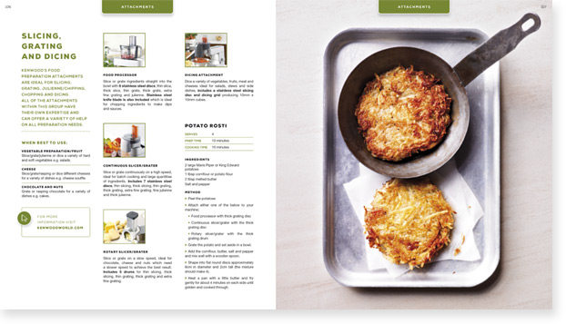 Kenwood Cookbook Design Spread 1
