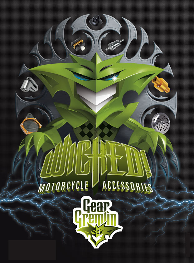 Magazine and Press Advertising Campaign Designs for Gear Gremlin