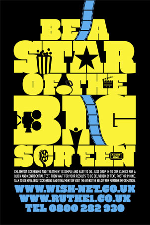 Cinema Advertising Campaign Designs NHS Posters