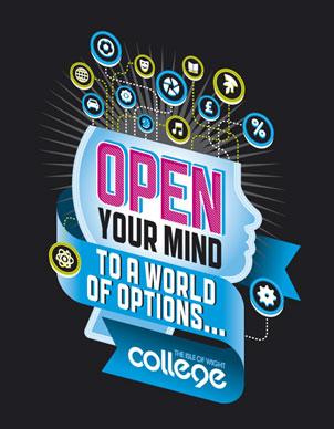 Press Advert Designs for IOW College