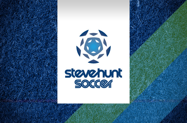 Soccer Logo Design for Steve Hunt