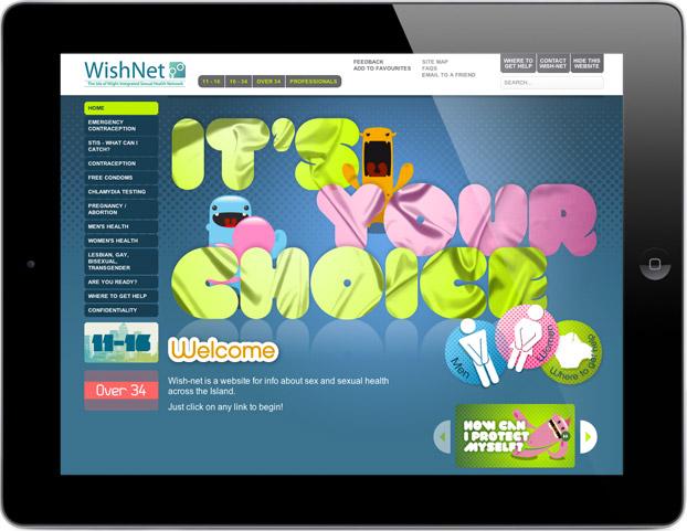 NHS Website Deign Health Promotion
