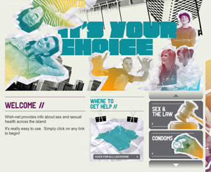 NHS Website Design Graphics