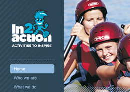 Activity Website Design Portfolio Example Thumbnail