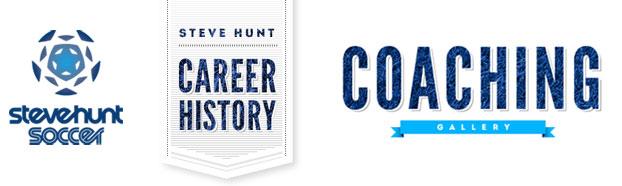 Website Design for Seve Hunt Soccer Coaching