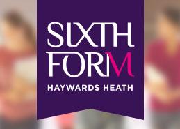 College branding design for Haywards Heath 6th form