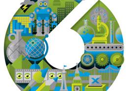 Logo branding design for IOW 6th form