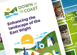 Down To The Coast Leaflet Design and Marketing
