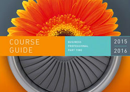 Part-time prospectus for Farnborough college