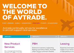 Avtrade Website Design Portfolio Example Thumbnail