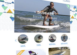 Wight Water Website Design Portfolio Example Thumbnail