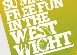 West Wight Landscape Partnership Leaflet And Guide Design