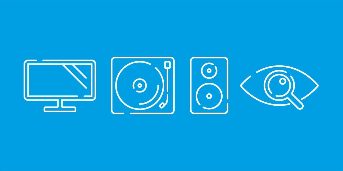AV lifestyle website graphics Riverside Hi-Fi