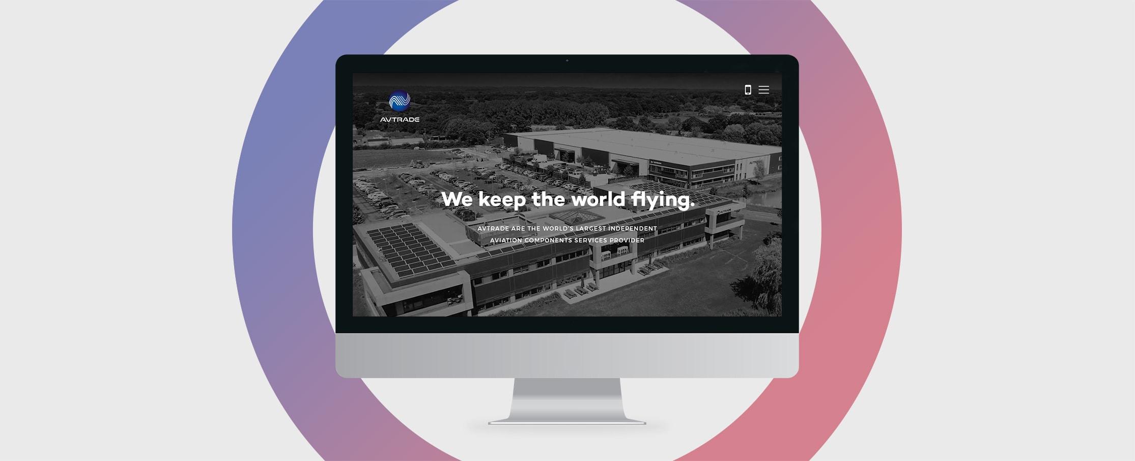 Avtrade web design development