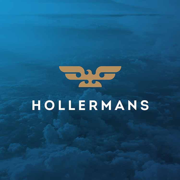 Brand design financial business Hollermans