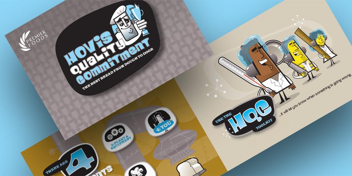Hovis quality campaign design