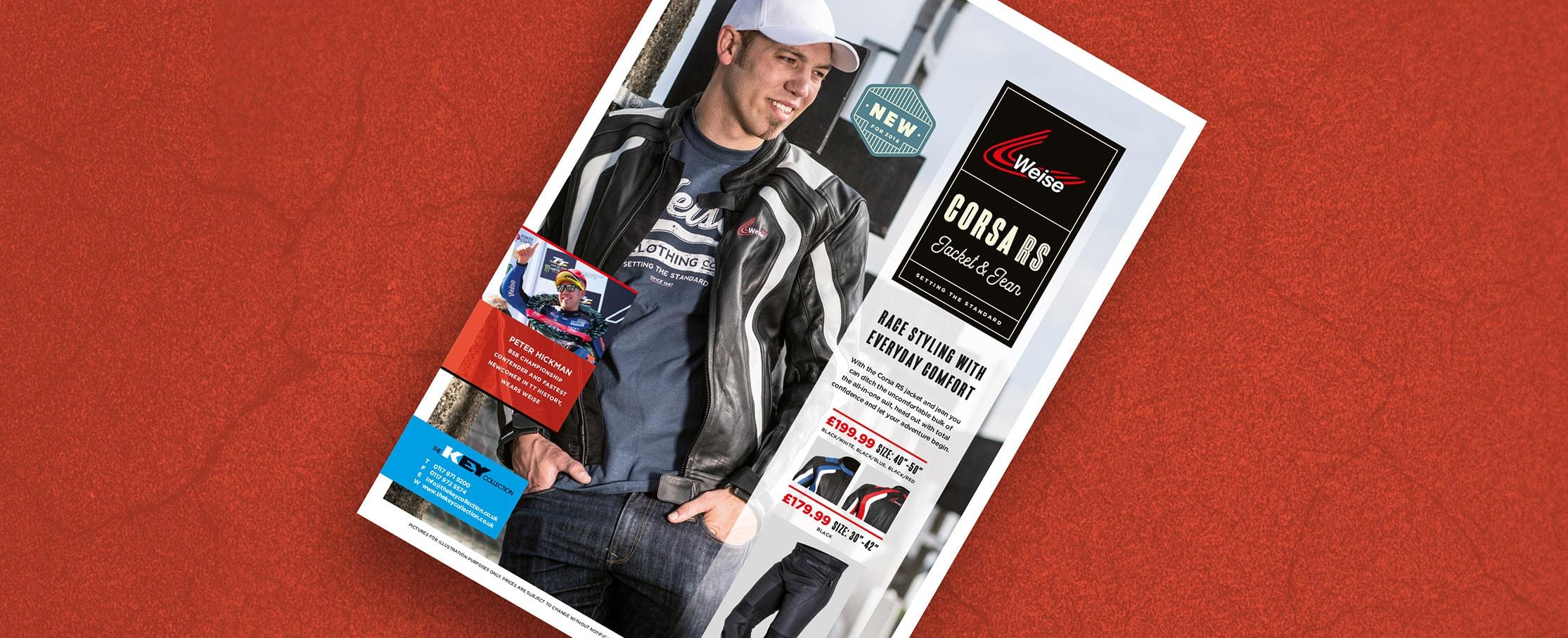 Magazine advert design Fowlers