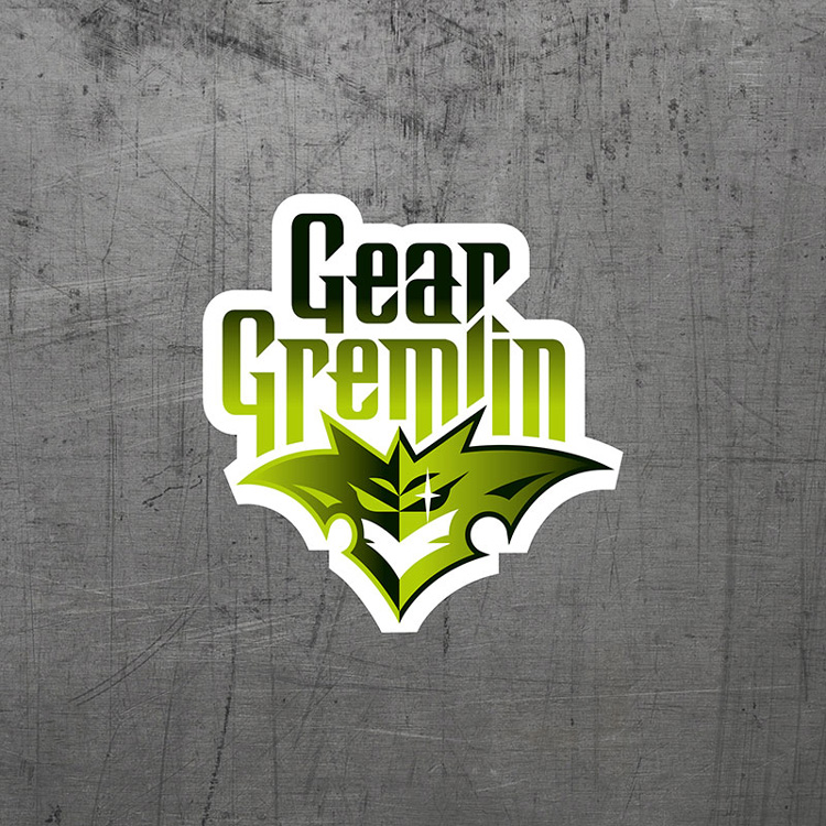 Motorcycle brand design Gear Gremlin