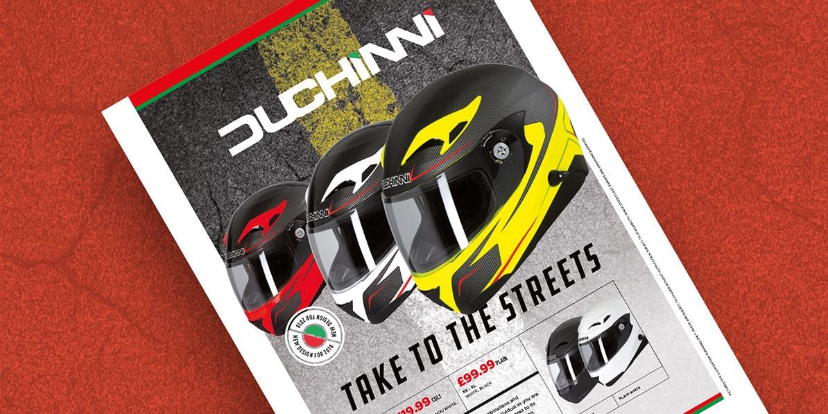 Motorcycle press advert designs Fowlers