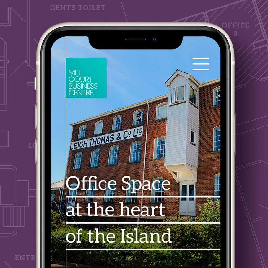 Website design for office property